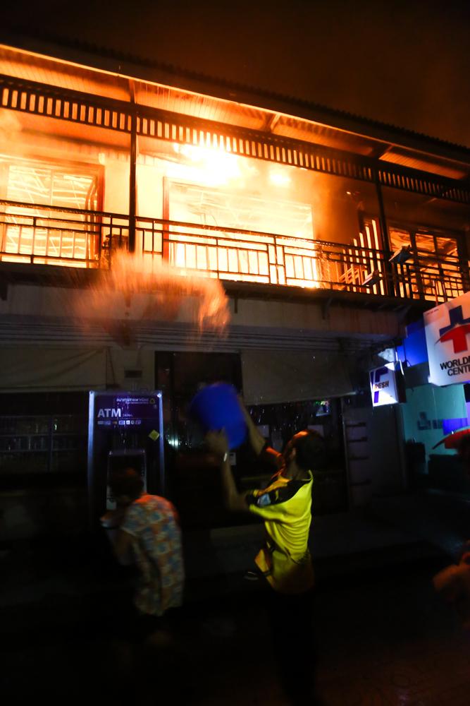 Koh Phi Phi Fire